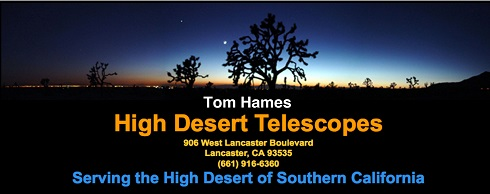 High Desert Telescopes